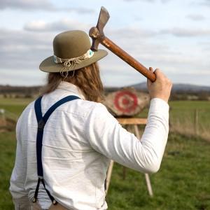 axe throwing contest courses